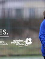 Everton Soccer School At Hoppers