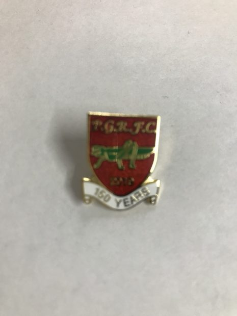 150th Anniversary Pin Badge
